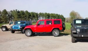 The Difference Between Jeep Wrangler Models