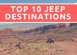 Top 10 Jeep Destinations