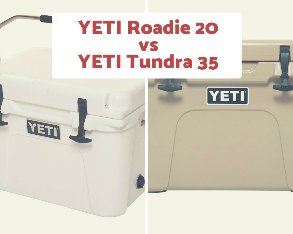 YETI Roadie 20 vs  YETI Tundra 35 Cooler Review And