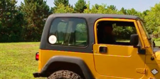 Can you wax a Jeep hardtop