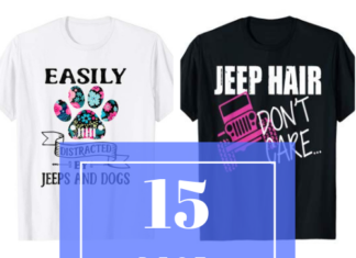 15 Best Selling Jeep Girl Shirts