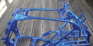 How much does it cost to powder coat an atv frame
