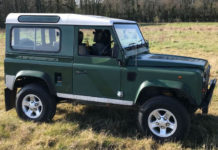 1995 Land Rover Defender 90 Exterior