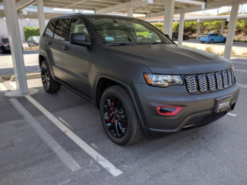 How Much Does it Cost to Wrap a Jeep Grand Cherokee