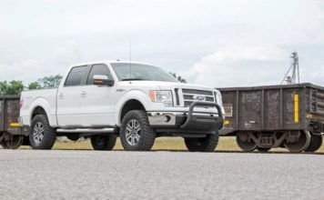 Lifted Ford F150 1