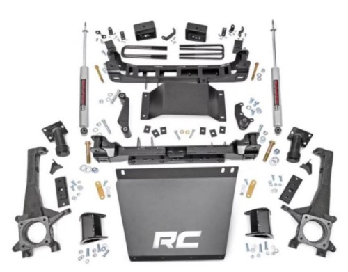 Rough Country 4 Suspension Lift Kit with Premium N2.0 Series Shocks kit