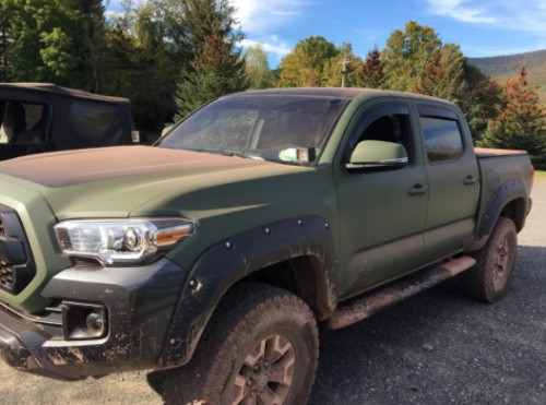 How Much Does It Cost to Wrap a Toyota Tacoma?
