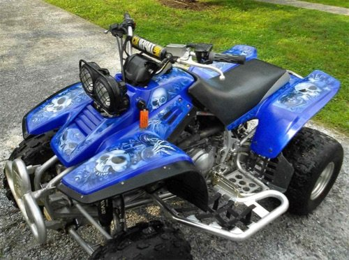 Yamaha Warrior 350 ATV: Review, Specs and Top Speed