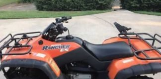 Honda Rancher 350 side
