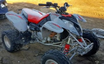 Polaris Predator 500 front and side